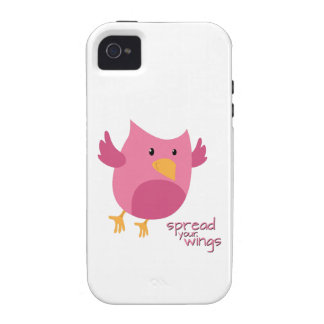 Spread Your Wings Case-Mate iPhone 4 Covers