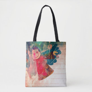 Spread Your Wings Christmas Tote Bag