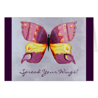 Spread Your Wings Graduation Card
