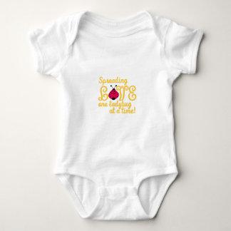 Spreading Love Baby Bodysuit