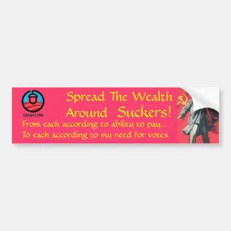 Spreading the Wealth Around Bumper Sticker