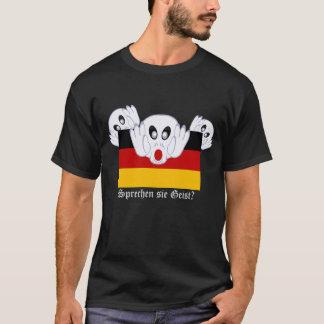 Sprechen sie Geist with German Flag T-Shirt