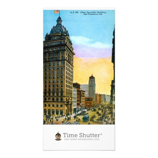 Spreckles Building Picture Card