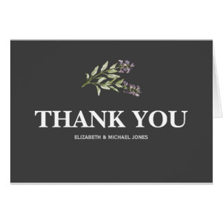 Sprig Thank You Card