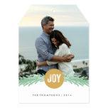 Sprigs of Joy Holiday Photo Card 13 Cm X 18 Cm Invitation Card