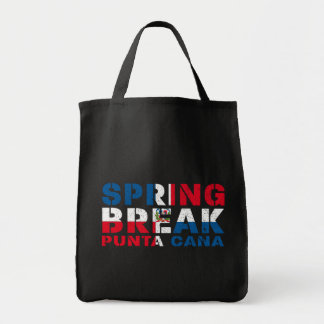 Sprin Break Punta Cana Dominican Republic Tote Bag