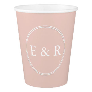 Spring 2017 Designer Colors Pale Pink Dogwood Paper Cup