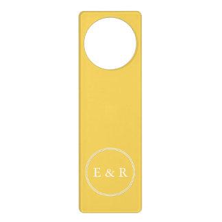 Spring 2017 Designer Colors Primrose Yellow Door Knob Hangers