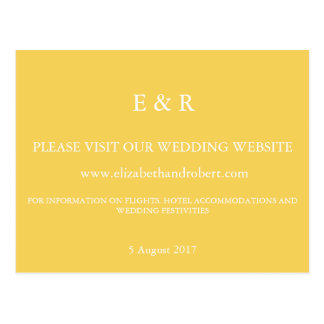 Spring 2017 Designer Colors Primrose Yellow Postcard