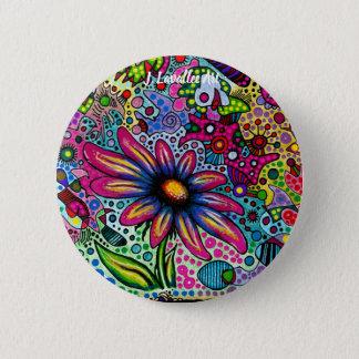 """Spring"" 6 Cm Round Badge"