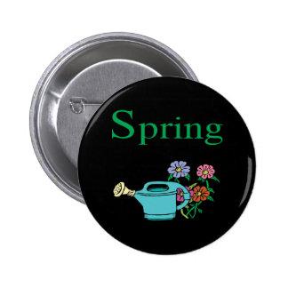 Spring 8 pinback button