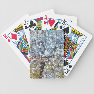 Spring Almond Blossom Bicycle Playing Cards