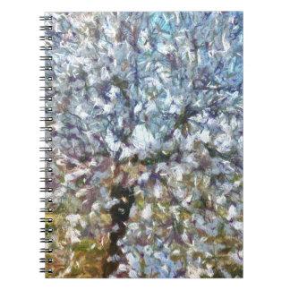 Spring Almond Blossom Notebook