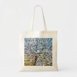Spring Almond Blossom Tote Bag