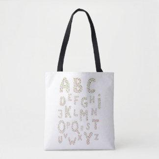 Spring Alphabet by Laila Cichos Tote Bag
