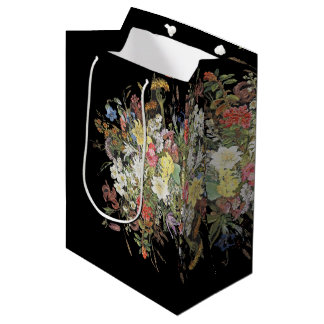 Spring Alpine Wildflower Flower Spray Gift Bag