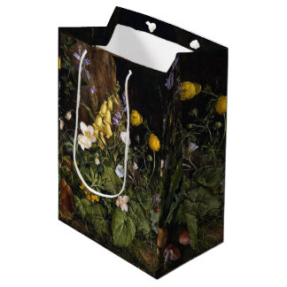 Spring Alpine Wildflower Flowers Gift Bag