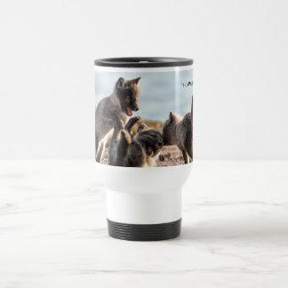 Spring - Arctic Fox Travel Mug