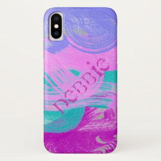 Spring Artsy Swirl iPhone X Case
