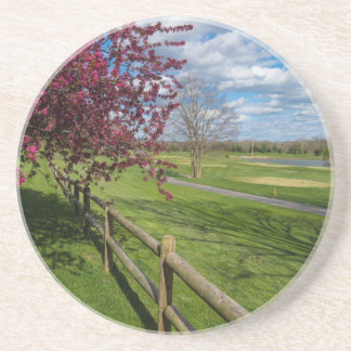 Spring At Rivercut Drink Coasters