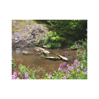 Spring at the Creek Canvas Print