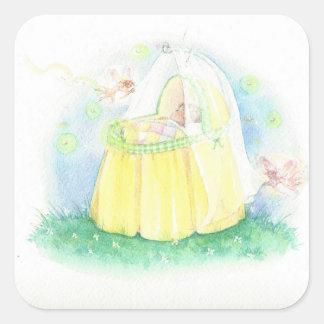 Spring Baby Sticker