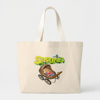 Spring Baby Tote Bag