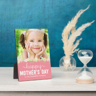 Spring Bloom Mother's Day Custom Frame Plaque