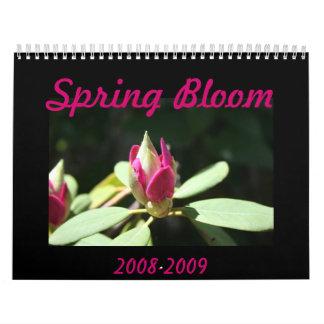 Spring Bloom Wall Calendar