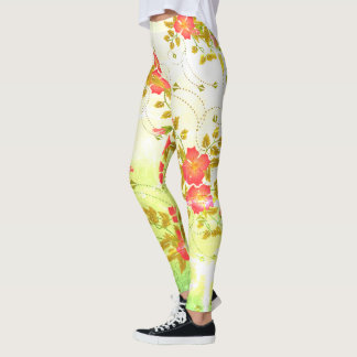 Spring Blooming (Bright Gold) Leggings