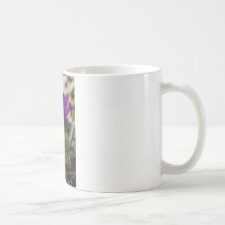 Spring Blooming Purple Crocus Flowers Coffee Mug