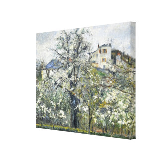 Spring Blossom by Camille Pissarro Wrapped Canvas Canvas Print