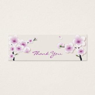 Spring Blossom Thank You Tag