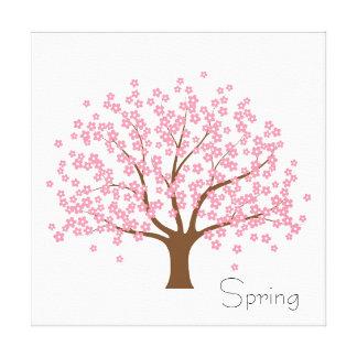 Spring Blossom Tree Gallery Wrap Canvas