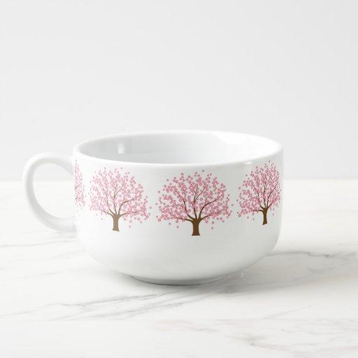 Spring Blossom Tree Soup Mug