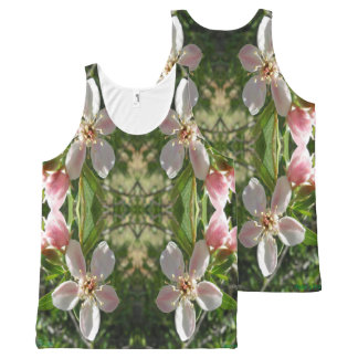 Spring Blossom XO All-Over Print Singlet