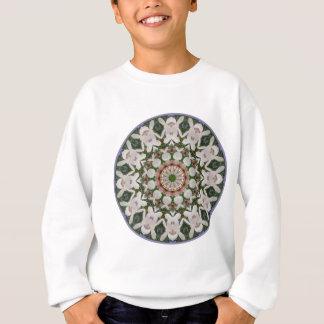 Spring blossoms 04.2, Flower-Mandala Sweatshirt