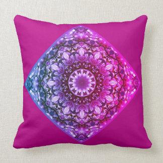 Spring blossoms 2.5.5.3.F4, Nature Mandala Throw Pillow
