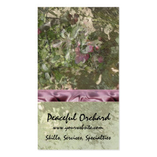 Spring Blossoms Pack Of Standard Business Cards