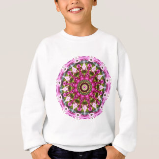 Spring blossoms, pink, Flower-Mandala, Nature Sweatshirt