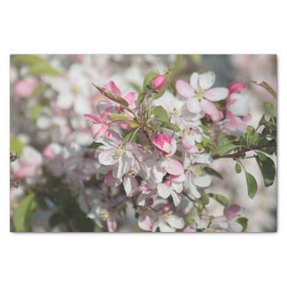 Spring blossoms tissue paper