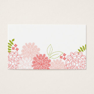 Spring Blossoms Wedding Place Cards