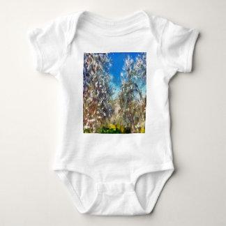 Spring Blosssom Baby Bodysuit