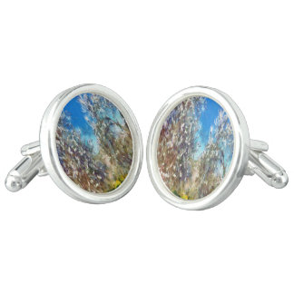 Spring Blosssom Cuff Links