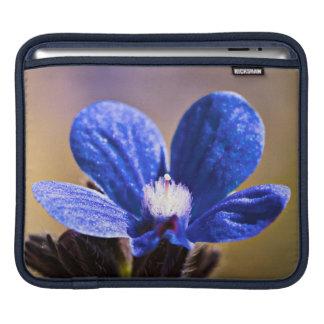 Spring Blue Flower iPad Sleeve
