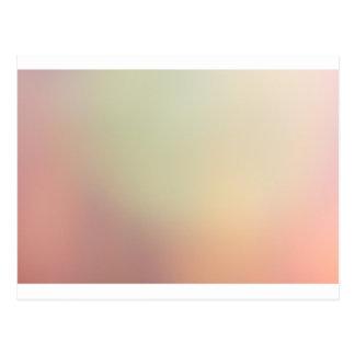 Spring Blur Postcard