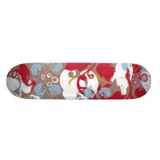 spring board 21.6 cm skateboard deck