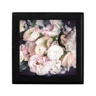 Spring Bouquet in Pastel Small Square Gift Box