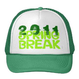 Spring Break 2011 Hat 5 Green