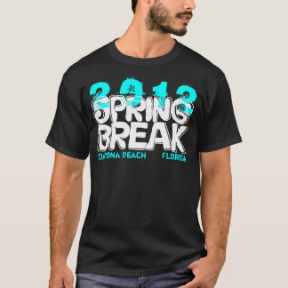 Spring Break 2012 Daytona Beach T-Shirt Teal
